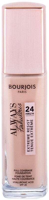 Bourjois Paris Always Fabulous 24H SPF20 Makeup 200 Rose Vanilla 30ml