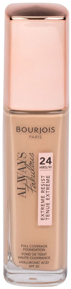 Bourjois Paris Always Fabulous 24H SPF20 Makeup 210 Vanilla 30ml