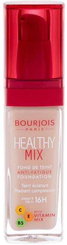 Bourjois Paris Healthy Mix Anti-Fatigue Foundation Makeup 50,5 Light Ivory 30ml