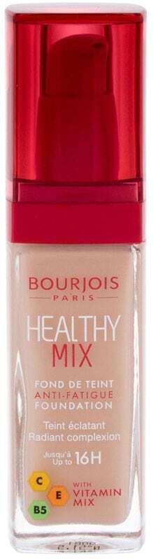 Bourjois Paris Healthy Mix Anti-Fatigue Foundation Makeup 51,5 Rose Vanilla 30ml