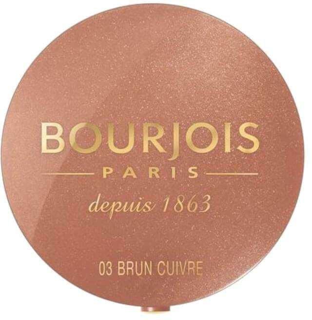Bourjois Paris Little Round Pot Blush 03 Brun Cuivré 2,5gr