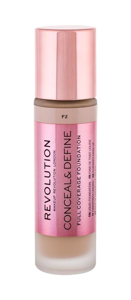 Makeup Revolution London Conceal Define Makeup 23ml F2