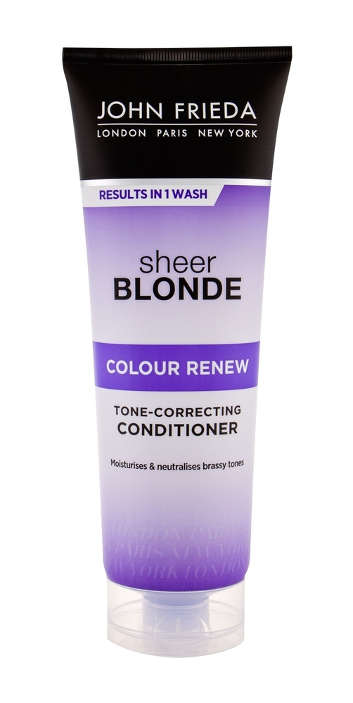 JOHN FRIEDA Sheer Blonde Colour Renew Tone Correcting Conditioner 250ml