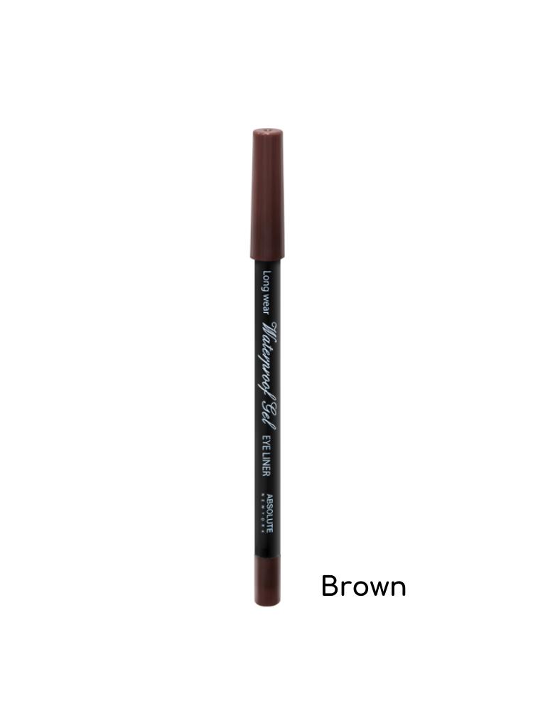Absolute New York Waterproof Gel Eye Liner - NFB84 Brown 1,1gr
