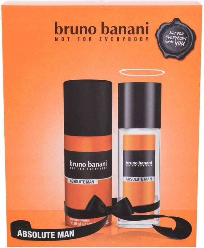 Bruno Banani Absolute Man Deodorant 75ml Combo: Deodorant 75 Ml + Deospray 150 Ml (Deo Spray)