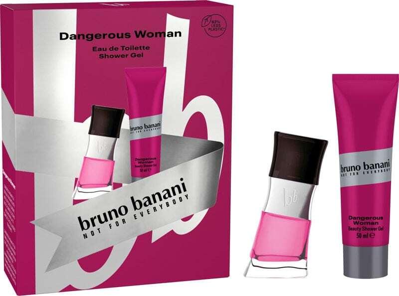Bruno Banani Dangerous Woman Eau de Toilette 30ml Combo: Edt 30 Ml + Shower Gel 50 Ml