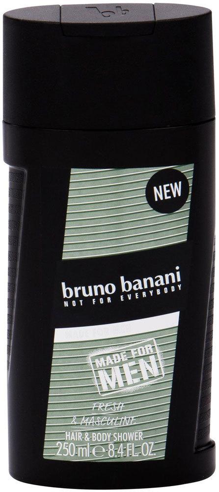 Bruno Banani Made For Men Hair & Body Shower Gel 250ml