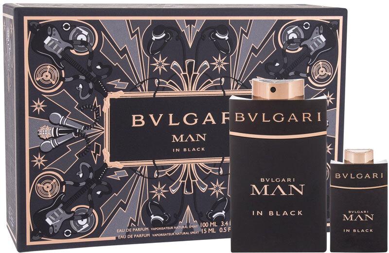 Bvlgari Man In Black Eau de Parfum 100ml Combo: Edp 100 Ml + Edp 15 Ml