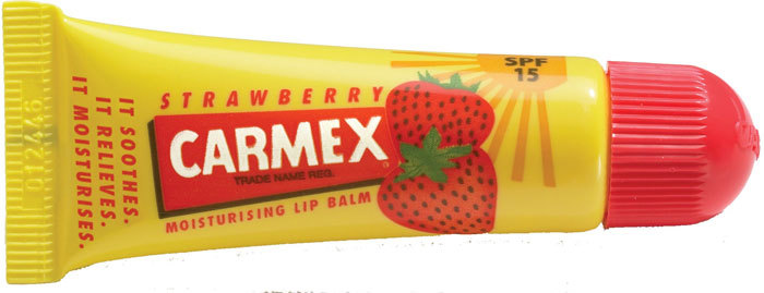 Carmex Strawberry SPF15 Lip Balm 10gr (For All Ages)