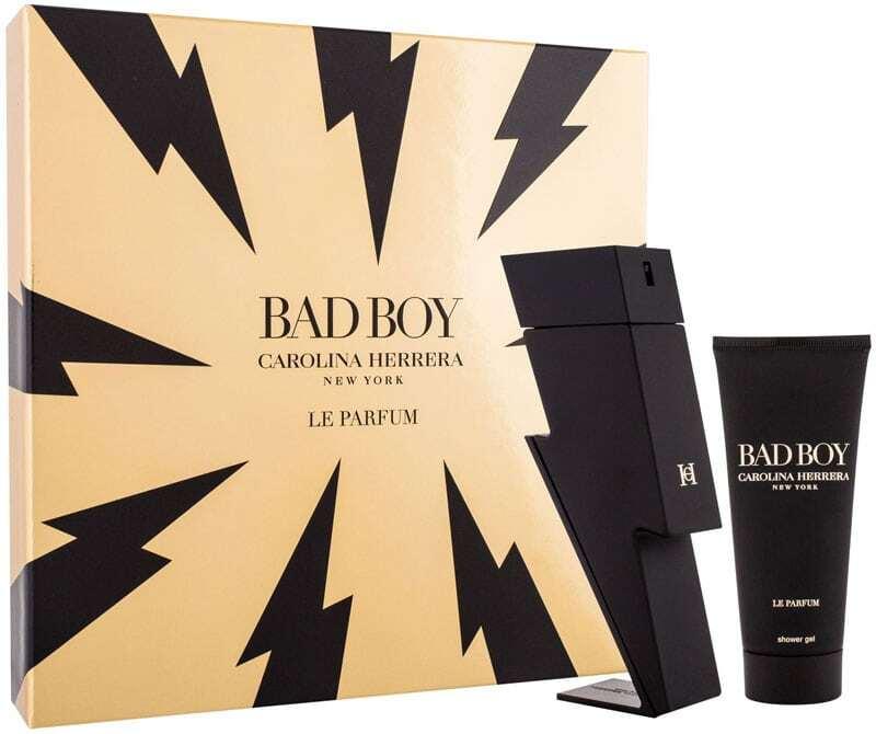 Carolina Herrera Bad Boy Le Parfum Eau de Parfum 100ml Combo: Edp 100 Ml + Shower Gel 100 Ml