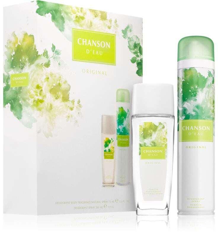Chanson Chanson D´Eau Deodorant 75ml Combo: Deodorant 75 Ml + Deospray 200 Ml (Deo Spray)
