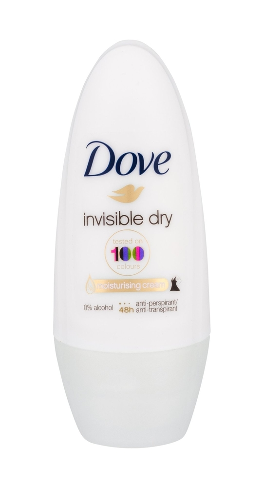 Dove Invisible Dry Antiperspirant 50ml Alcohol Free 48h (Roll-on)