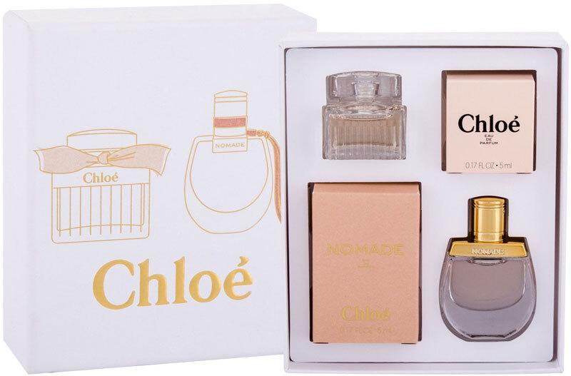 Chloé Mini Set Eau de Parfum 5ml Combo: Edp Chloe 5 Ml + Edp Nomade 5 Ml