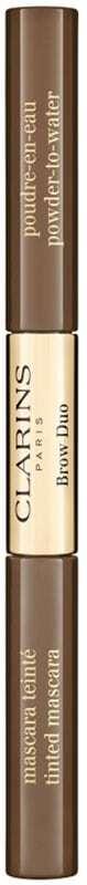 Clarins Brow Duo Eyebrow Mascara 03 Cool Brown 2,8grgr