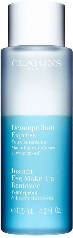 Clarins Instant Eye Make-Up Remover Waterproof & Heavy Make-Up Eye Makeup Remover 125ml