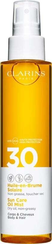 Clarins Sun Care Oil Mist SPF30 Sun Body Lotion 150ml