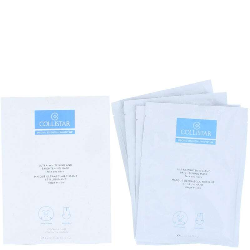 Collistar Special Essential White HP Ultra-Whitening Mask Face Mask 4x50ml (For All Ages)