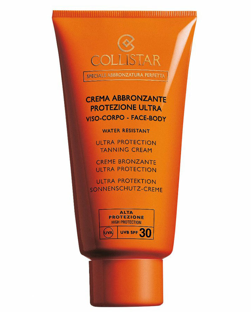 Collistar Special Perfect Tan Ultra Protection Tanning Cream SPF30 Sun Body Lotion 150ml