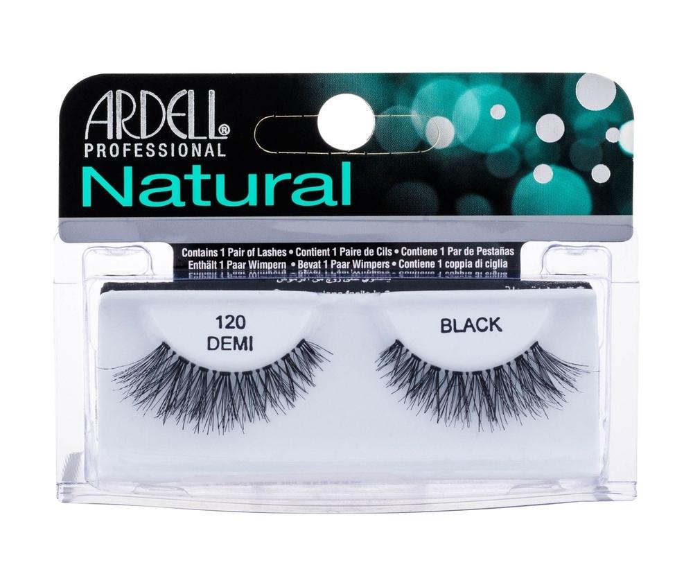 Ardell Natural Demi 120 False Eyelashes 1pc Black