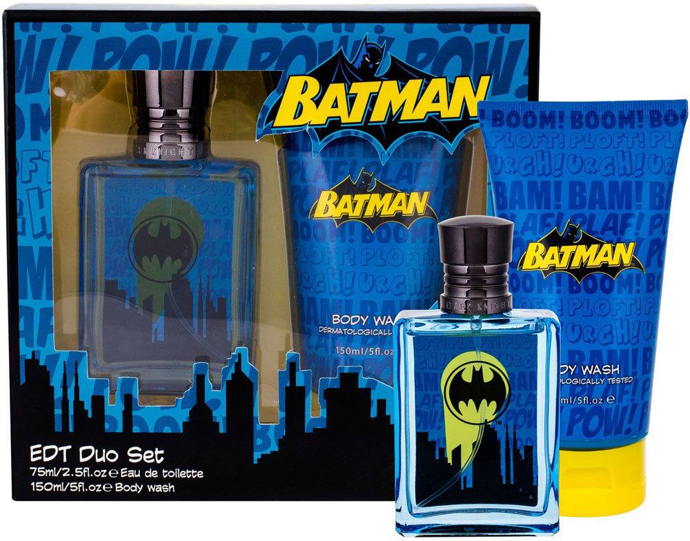 Dc Comics Batman Eau de Toilette 75ml Combo: Edt 75 Ml + Shower Gel 150 Ml