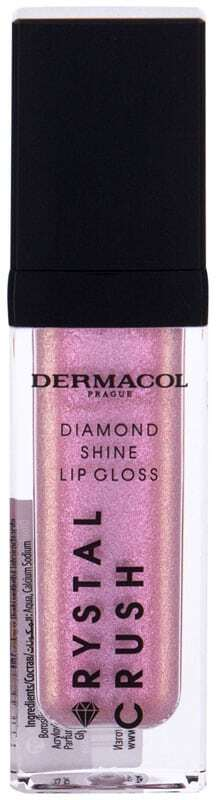 Dermacol Crystal Crush Diamond Shine Lip Gloss 01 6ml