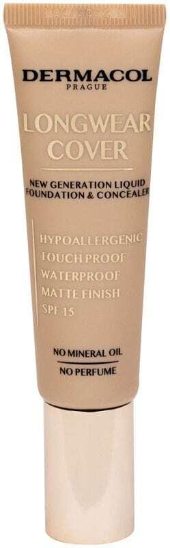 Dermacol Longwear Cover SPF15 Makeup Beige 30ml