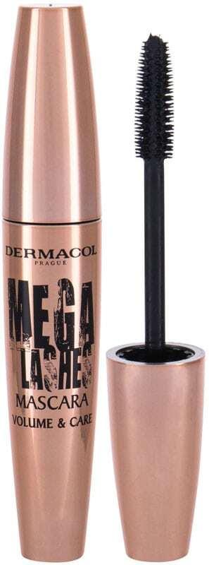 Dermacol Mega Lashes Volume & Care Mascara Black 11,5ml