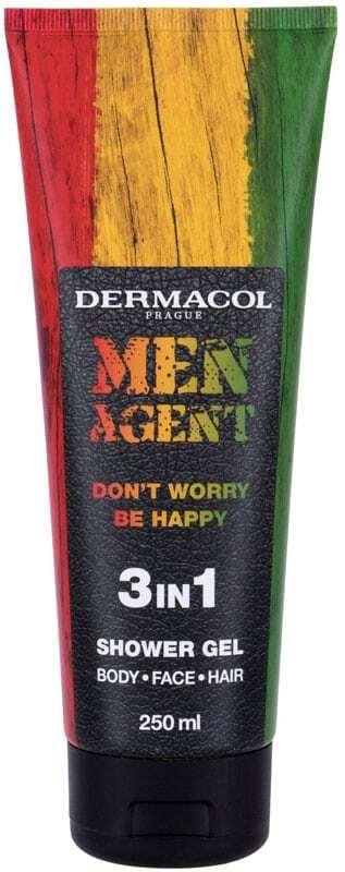 Dermacol Men Agent Don´t Worry Be Happy 3in1 Shower Gel 250ml