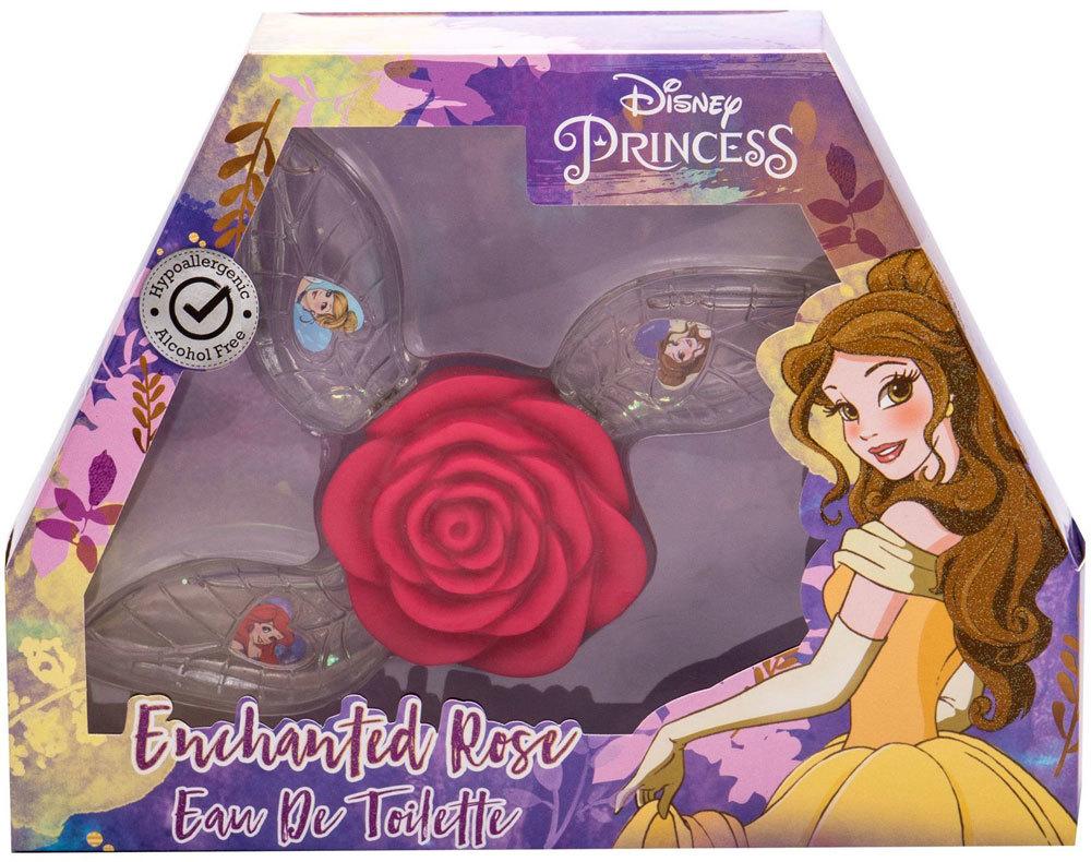 Disney Princess Princess Eau de Toilette 3x15ml Combo: Edt Ariel 15 Ml + Edt Belle 15 Ml + Edt Cinderella 15 Ml