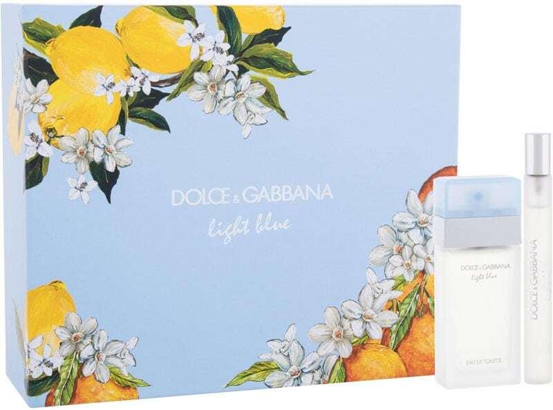 Dolce&gabbana Light Blue Eau de Toilette 25ml Combo: Edt 25 Ml+ Edt 10 Ml