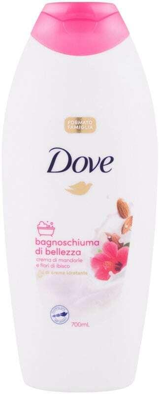 Dove Caring Bath Almond Cream With Hibiscus Bath Foam 700ml