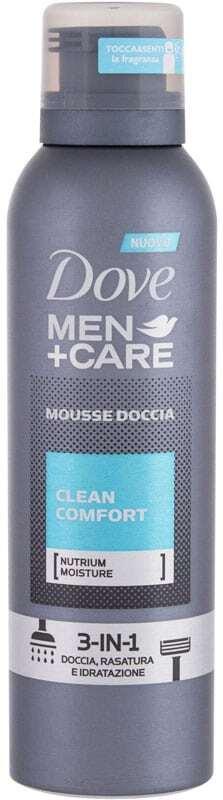 Dove Men + Care Clean Comfort Shower Foam 200ml