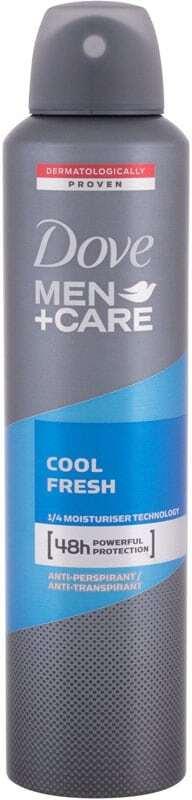 Dove Men + Care Cool Fresh 48h Antiperspirant 250ml (Deo Spray - Alcohol Free)