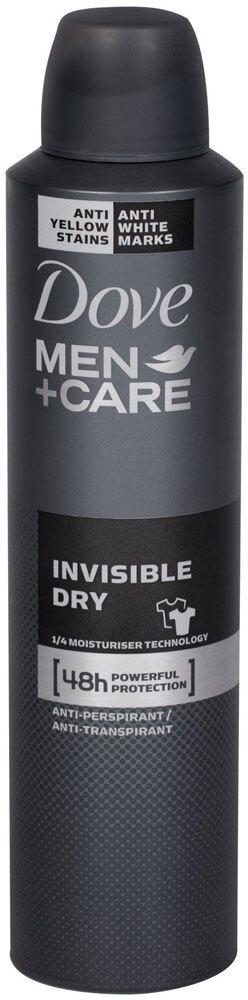 Dove Men + Care Invisible Dry 48h Antiperspirant 250ml (Deo Spray)