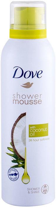 Dove Shower Mousse Coconut Oil Shower Foam 200ml