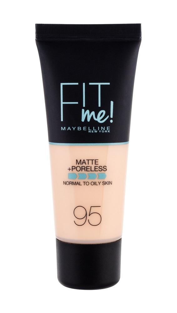 Maybelline Fit Me! Matte + Poreless Makeup 30ml 95 Fair Porcelain