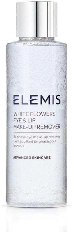 Elemis Advanced Skincare White Flowers Eye & Lip Eye Makeup Remover 125ml (Alcohol Free)