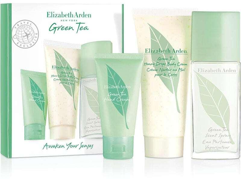 Elizabeth Arden Green Tea Eau de Toilette 50ml Combo: Edt 50 Ml + Hand Cream 30 Ml + Body Cream Honey Drops Cream 100 Ml