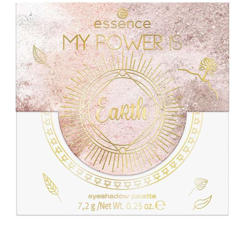 Essence My Power Is Earth Eyeshadow Palette 02 Down-To-Earth! 7,2gr