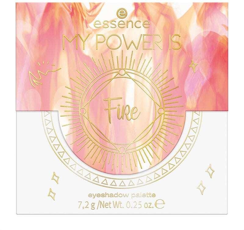 Essence My Power Is Fire Eyeshadow Palette 03 I'M On Fire! 7,2gr