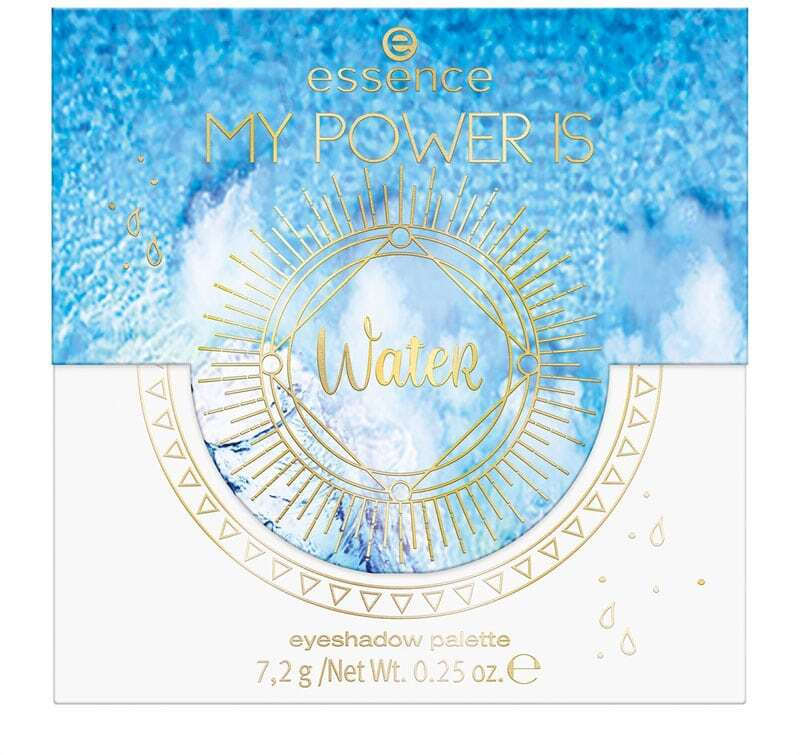 Essence My Power Is Water Eyeshadow Palette 04 Dance With The Waves! 7,2gr