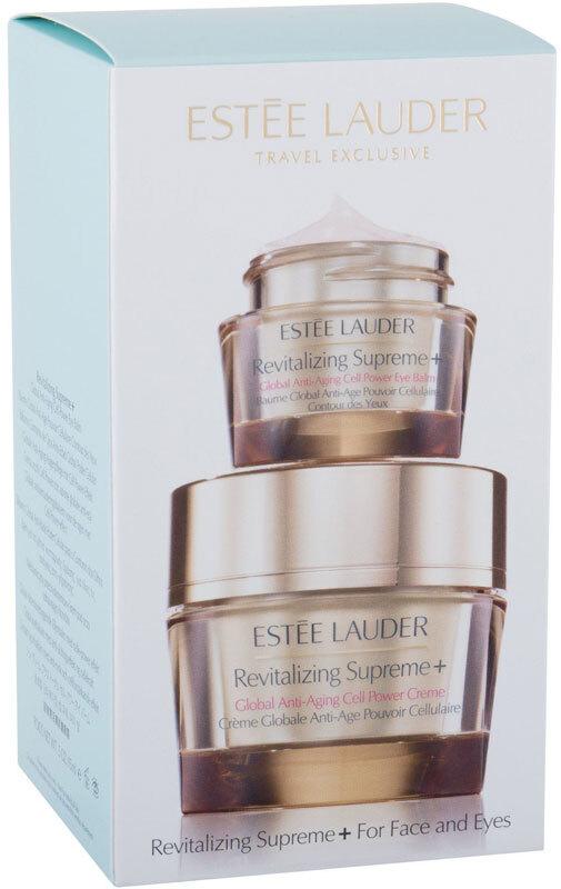 Estée Lauder Revitalizing Supreme+ Global Anti-Aging Power Soft Creme Day Cream 50ml Combo: Daily Facial Care 50 Ml + Revitalizing Supreme+ 15 Ml (Wrinkles - Mature Skin)