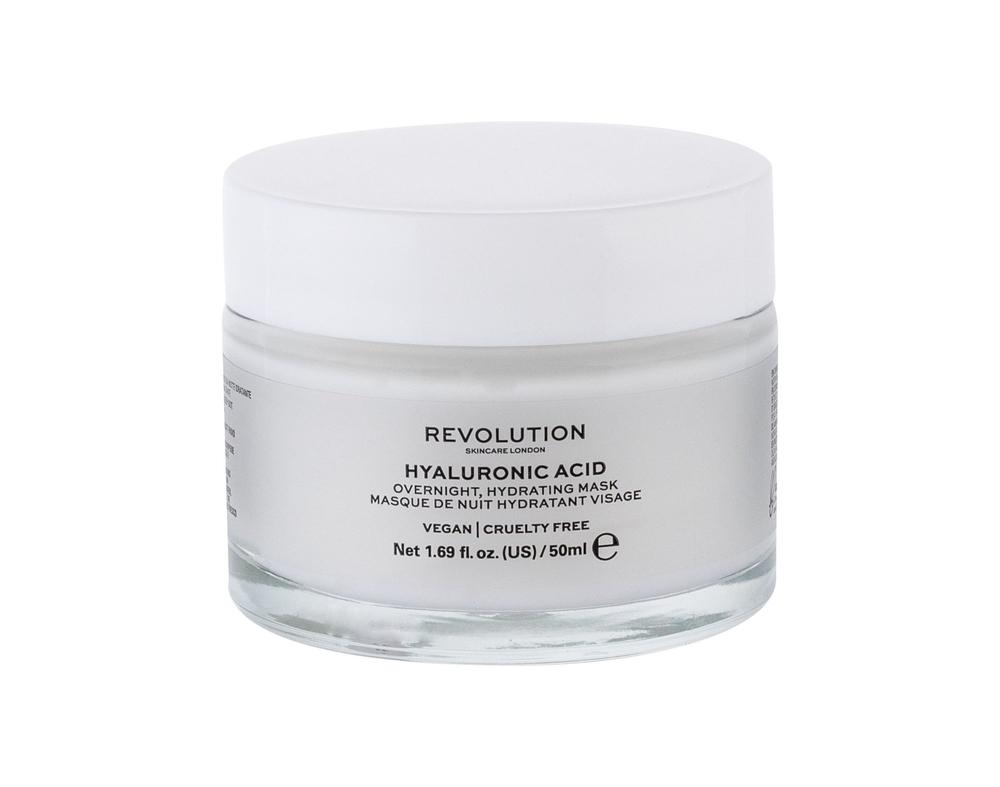 Makeup Revolution London Skincare Hyaluronic Acid Face Mask 50ml (All Skin Types - For All Ages)