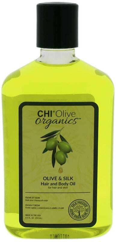 Farouk Systems CHI Olive Organics Olive & Silk Hair And Body Oil Hair Oils and Serum 251ml (All Hair Types)