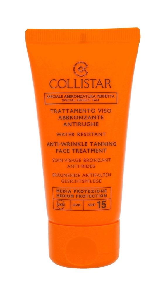 Collistar Special Perfect Tan Tanning Face Treatment Spf15 Face Sun Care 50ml