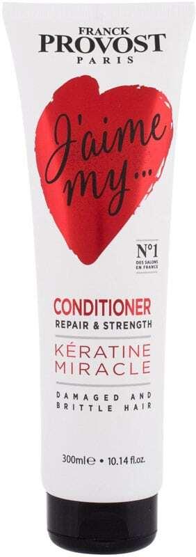 Franck Provost Paris J´Aime My... Kératine Miracle Conditioner 300ml (Damaged Hair)