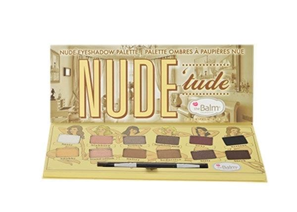 Thebalm Nude Tude Eyeshadow Palette Eye Shadow 11,08gr