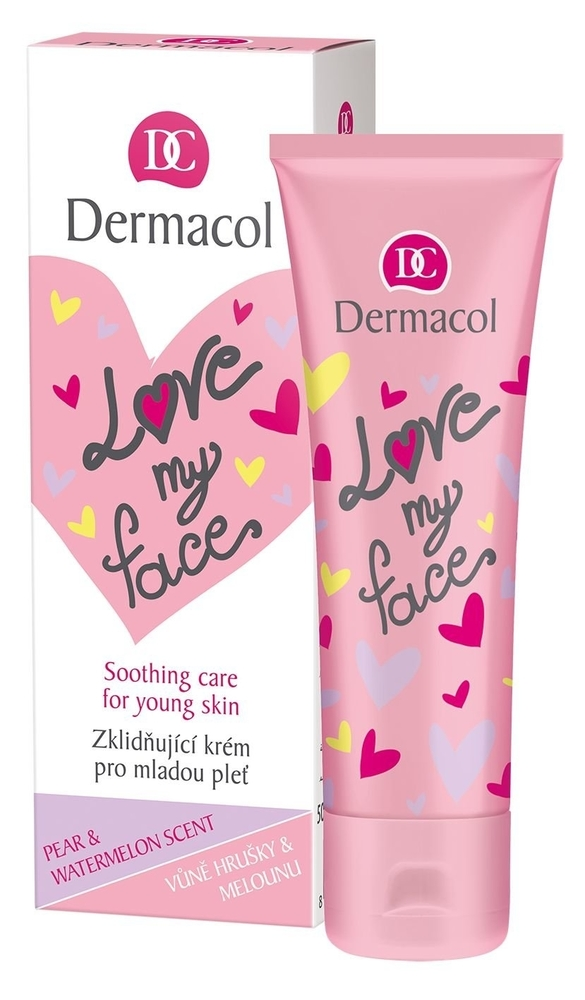 Dermacol Love My Face Soothing Care Day Cream 50ml (Young Skin - All Skin Types)
