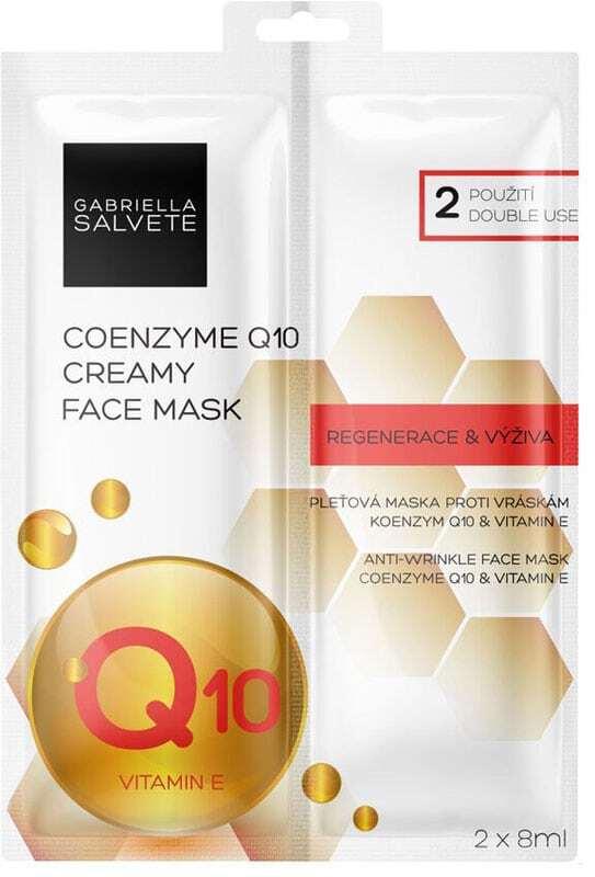 Gabriella Salvete Creamy Face Mask Coenzyme Q10 Face Mask 16ml (Wrinkles)