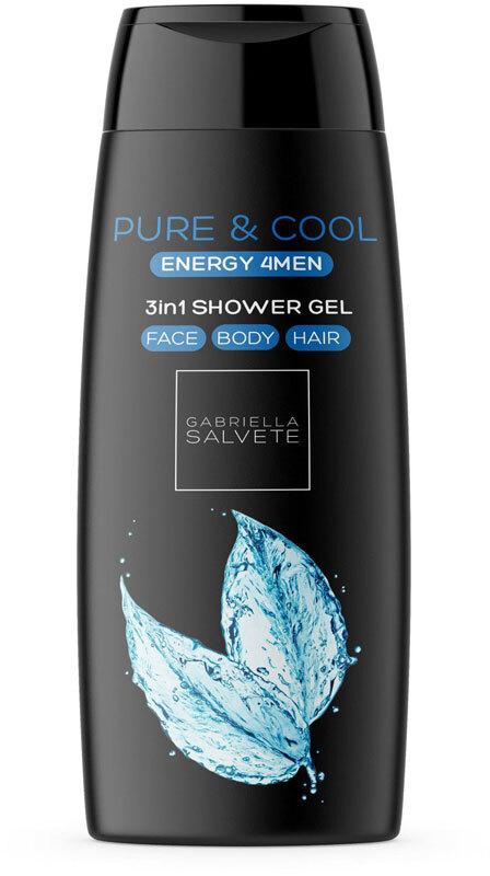 Gabriella Salvete Energy 4Men Pure & Cool 3in1 Shower Gel 250ml